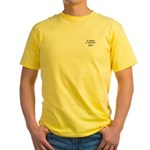 It takes a woman: Hillary 2008 Yellow T-Shirt