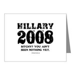 Hillary 2008: Bitchy? You ain't seen nothing Note