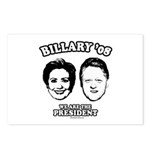 Billary 08: We are the President Postcards (Packag