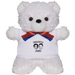 Billary 08: We are the President Teddy Bear