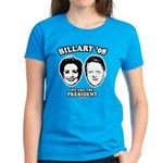 Billary 08: We are the President Women's Dark T-Sh