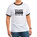 Hillary 2008: She's my girl Ringer T