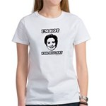 I'm hot for Hillary Women's T-Shirt