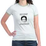 I'm hot for Hillary Jr. Ringer T-Shirt