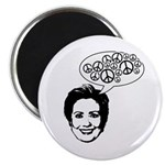 Hillary 2008 for peace Magnet