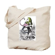 Flamingo Croquet Tote Bag