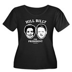Hill Billy for President Women's Plus Size Scoop N