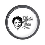I'm voting for her Wall Clock