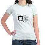 I'm voting for her Jr. Ringer T-Shirt