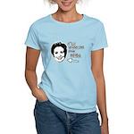 I'm voting for her Women's Light T-Shirt