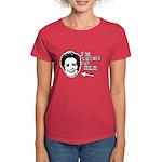 I'm voting for her Women's Dark T-Shirt
