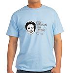 I'm voting for her Light T-Shirt
