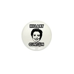 Hillary Clinton for Peace Mini Button (10 pack)