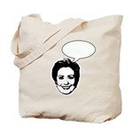 Hillary (write in message) Tote Bag