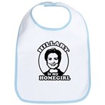 Hillary is my homegirl Bib