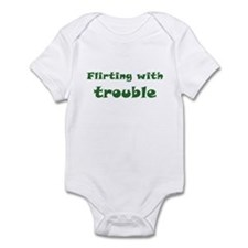 Flirting With Trouble Infant Bodysuit