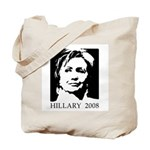 Hillary 2008 Tote Bag