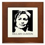 Hillary Clinton Framed Tile