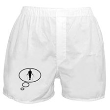 Thinking of Jump Rope Boxer Shorts