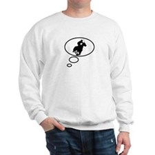 Thinking of Horse Racing Sweatshirt