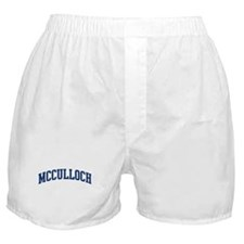 MCCULLOCH design (blue) Boxer Shorts