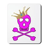 Pink Pirate Royalty Mousepad