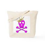 Pink Pirate Royalty Tote Bag