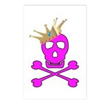 Pink Pirate Royalty Postcards (Package of 8)