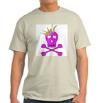 Pink Pirate Royalty Light T-Shirt