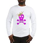Pink Pirate Royalty Long Sleeve T-Shirt