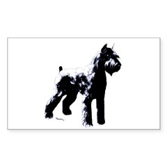 Giant schnauzer Stacked Rectangle Sticker