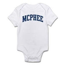 MCPHEE design (blue) Infant Bodysuit
