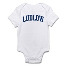LUDLOW design (blue) Infant Bodysuit