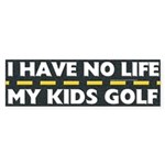 My Kids Golf Bumper Sticker