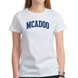 MCADOO design (blue) Tee