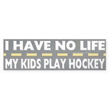 My Kids Play Hockey Bumper Stickers
