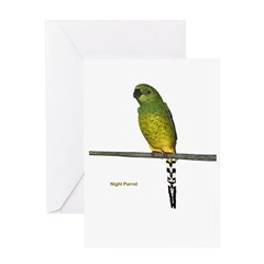 Night Parrot Greeting Card