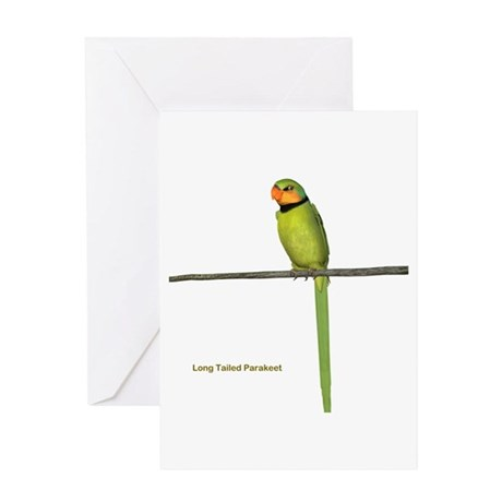 Ring Necked Parakeet Greeting Card