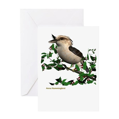 Kuckaburra Greeting Card