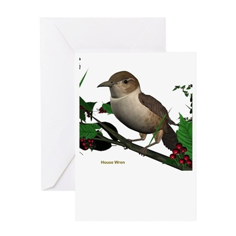 House Wren Greeting Card