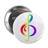 GLBT / LGBT - Music 2.25&quot; Button
