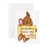 Mouse Love GM Greeting Cards (Pk of 10)