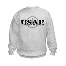 I Support My Nephew - Air Force Sweatshirt