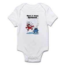 Misery is Optional Infant Bodysuit