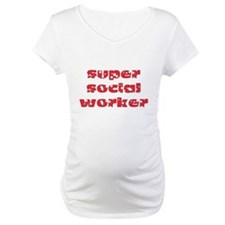super social worker (Red) Shirt