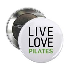 "Live Love Pilates 2.25"" Button"