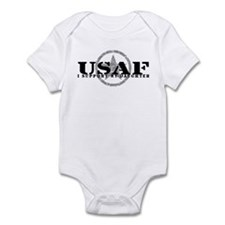 I Support My Daughter - Air Force Infant Bodysuit