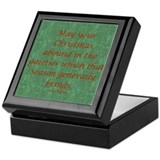 Jane Austen Christmas Keepsake Box