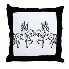 Wing Fantacy Throw Pillow