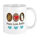 Peace Love Bottle Mug